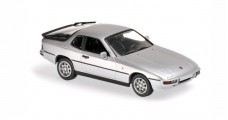 Porsche 924 1984 Silver 1:43 Minichamps 940062120