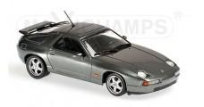 Porsche 928 Year 1991 Grey Metallic 1:43 Minichamps 940068100