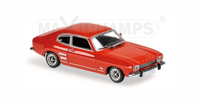 Ford Capri I Year 1969 Red 1:43 Minichamps 940085500