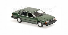 Volvo 740 Year 1986 dark green Minichamps 940171700
