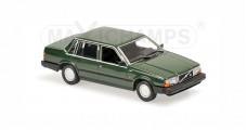 Volvo 740 Year 1986 dark green Minichamps 940171700