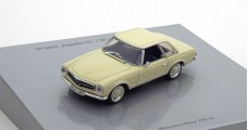 Mercedes-Benz 230SL Pagoda 50 Years Ivory / Cream 1:43 Minichamps B66041024
