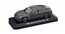 Porsche Panamera turbo S Silver Grey 1:43 Minichamps WAP0200250C