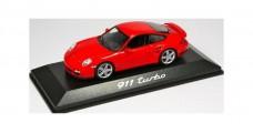 Porsche 911 Turbo 2006 Red 1:43 Minichamps WAP02013116
