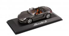 Porsche Boxster S Grey 1:43 Minichamps WAP0202010D