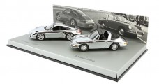 Porsche 911 Targa Chrome Set 1:43 Minichamps WAP020SET16
