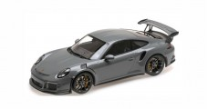 Porsche 911 991 GT3 RS  2015 China Grey 1:18 Minichamps WAX02100030