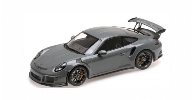 Porsche 911 991 GT3 RS  2015 China Grey 1:18 Minichamps WAX02100030