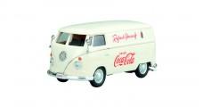 Coca-Cola VW 1962 VW Transporter Cargo Van Cream 1:43 Motorcity Classics 430005