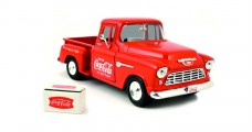 Coca-Cola 1955 Chevy 5100 Stepside Pickup 1:43 Motorcity Classics 435683