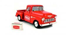 Coca-Cola 1955 Chevy 5100 Stepside Pickup 1:43 Motorcity Classics 435683