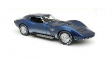 Chevrolet Corvette Mako Shark II 1965 Blue 1:43 Neo 43705