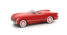 Chevrolet Corvette C1 Convertible 1953 Red 1:43 Neo 45745
