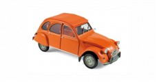 Citroen 2CV 6 1976 Orange 1:18 Norev 181514