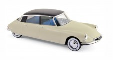 Citroen DS 19 Salon de Paris 1955 Beige Aubergine 1:18 Norev 181565