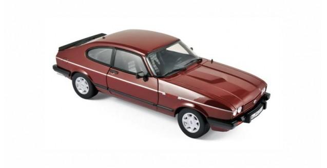 Ford Capri 2.8i 1982 Red 1:18 Norev 182717