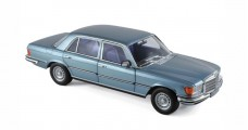 Mercedes SEL 6.9 (W119) 1976 Blue Grey Metallic 1:18 Norev 183457
