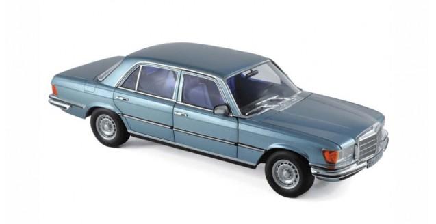 Mercedes SEL 6.9 (W119) 1976 Blue Grey Metallic 1:18 Norev 183457
