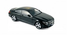 Mercedes-Benz S-Class Coupe 2014 Black 1:18 Norev 183482