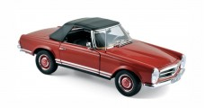 Mercedes Benz 280SL Pagoda Spider (W113) 1969 Red 1:18 Norev 183520