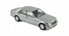 Mercedes-Benz S600 1997 Grey Silver 1:18 Norev 183563