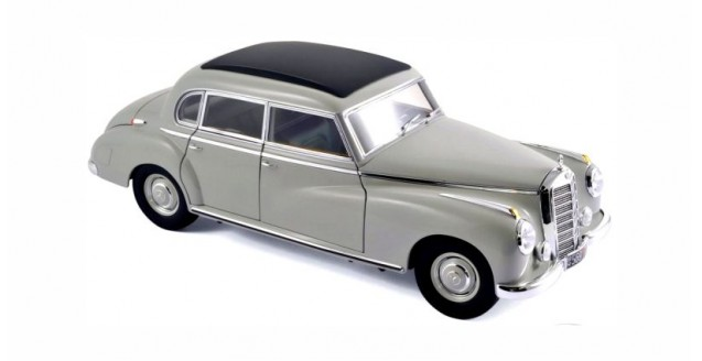 Mercedes-Benz 300 1955 Grey 1:18 Norev 183578