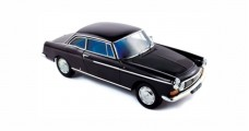 Peugeot 404 Coupe 1967 Black 1:18 Norev 184778