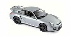 Porsche 911 GT2 2007 Silver 1:18 Norev 187594