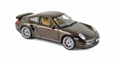 Porsche 911 Turbo 2010 Macadamia Brown Metallic 1:18 Norev 187622