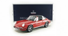 Porsche 911 T Targa year 1971 red 1:18 Norev 187634