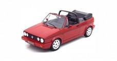 VOLKSWAGEN Golf 1 Series Cabriolet Open Classic Line 1992 Red 1:18 Norev 188405