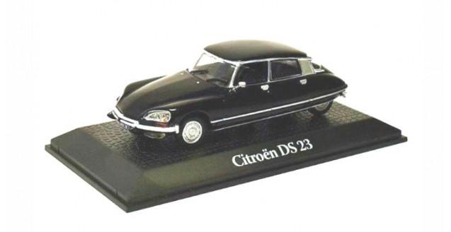 CITROEN DS23 Presidential Election Valery Giscard d'Estaing 1974 Black 1:43 Norev 2696015