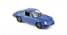 Porsche 911 S 2.4 1973 Blue 1:43 Norev 750055