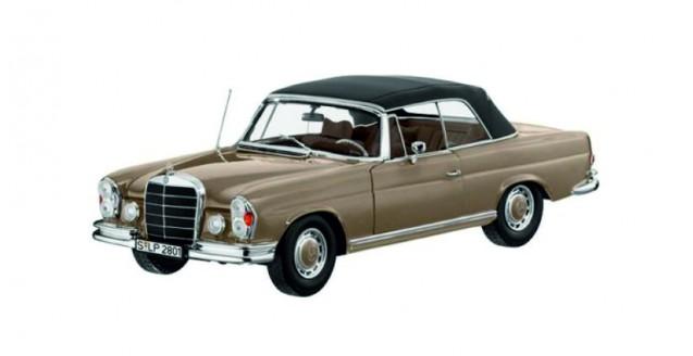 1:18 norev mercedes 280se cabrio w111 nuevo New