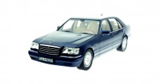 Mercedes-Benz S500 1994-1998 Blue 1:18 Norev B66040632