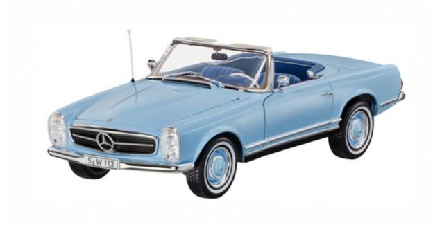 Mercedes Benz 230 SL Pagoda W 113 1963-1967 Blue 1:18 Norev B66040633