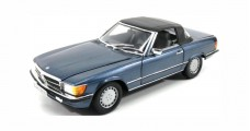 Mercedes-Benz 300 SL (R107) 1985-89 Lapis Blue Metallic 1:18 Norev B66040634