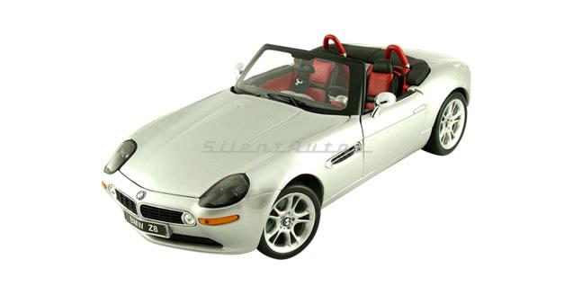 BMW Z8 Silver 1:18 Kyosho 08511S