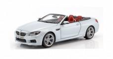 BMW M6 F12 Cabrio 2012 Silver 1:18 Paragon 2253656