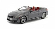 BMW M4 Cabriolet F83 2015 Mineral Grey 1:18 Paragon 2339610