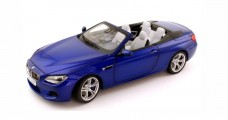 BMW M6 Cabrio Blue 1:18 Paragon 253657