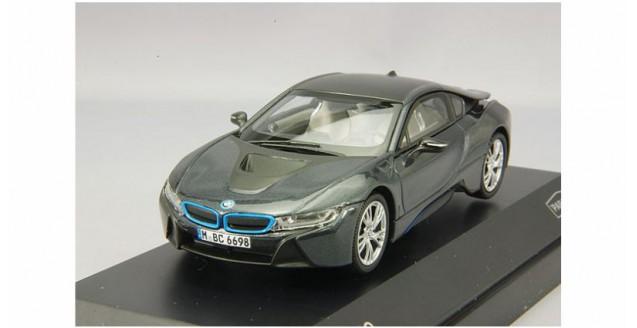 Paragon 91051 Bmw I8 Grey With Blue 1 43