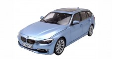 BMW 3 Series F31 Touring Liquid Blue 1:18 Paragon 97043