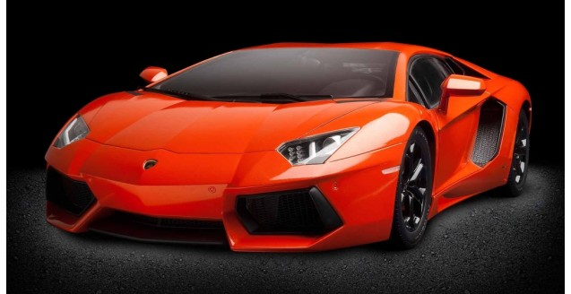 Lamborghini Aventador LP 700-4 Orange 1:8 Pocher HK100