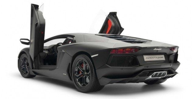 Pocher Hk102 Lamborghini Aventador Lp 700 4 Matt Black 1 8