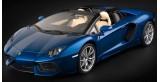 Lamborghini Aventador LP 700-4  Blue 1:8 Roadster Pocher HK103