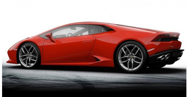 Pocher Hk105 Lamborghini Huracan Lp 610 4 Red 1 8
