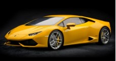 Lamborghini Huracan LP 610-4 Giallo Midas Pearl Effect (metallic Yellow) 1:8 Pocher HK106