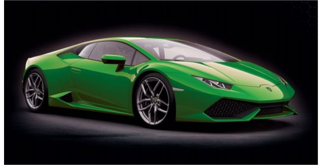 Pocher Hk109 Lamborghini Huracan Lp 610 4 Verde Mantis Metallic