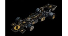 Lotus 72D 1972 British GP Emerson Fittipaldi Black 1:8 Pocher HK114